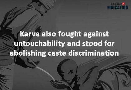 Fight against caste discrimination